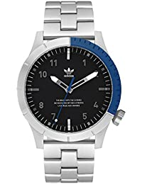 Watches Cypher_M1. Mens 3 Link Solid Stainless Steel Bracelet, 22mm Width (Silver/. adidas