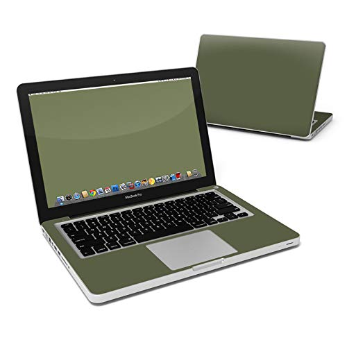 (Solid State Olive Drab Full-Size 360° Protector Skin Sticker for Apple MacBook Pro 13