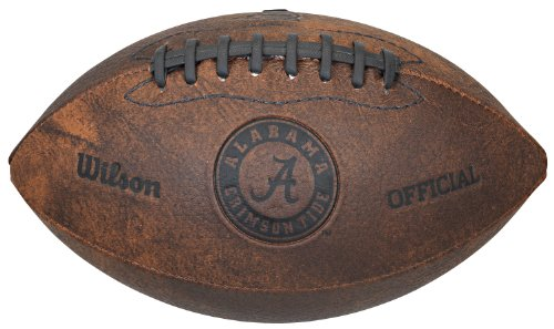 Gulf Coast Sales NCAA Alabama Crimson Tide Vintage Throwback Football