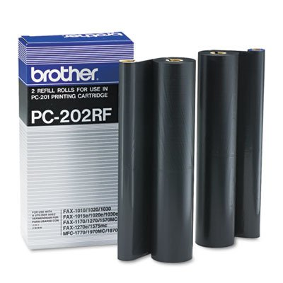 1020e Fax - Brother PC202RF Black Thermal Transfer Refill Rol
