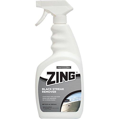 Cleaner Boat Zing (ZING 10195 Professional Black Streak Remover - 32 oz.)