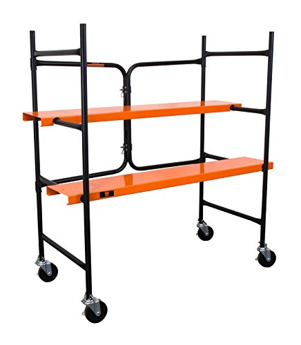 WEN 31105 500 lb Capacity Collapsible Rolling Scaffolding by WEN