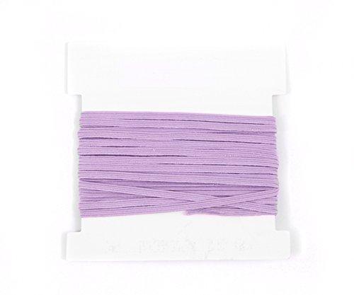 1/8th inch Skinny Elastic - 10 yards - Lavender