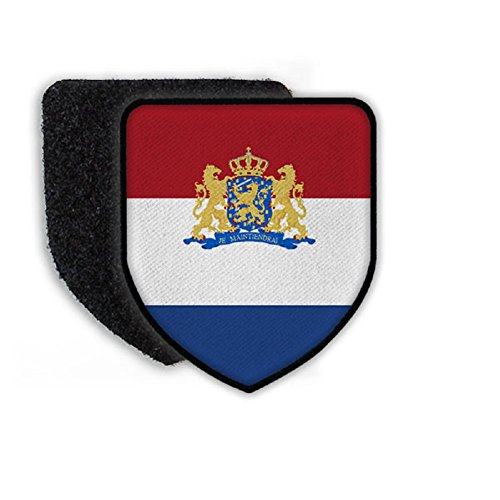 Flag of Netherlands country national coat of arms - Patch / Patches Netherland Coat Of Arms