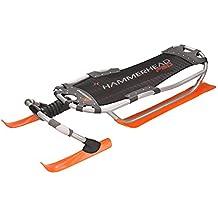 Yukon Charlies Hammerhead Pro XLD Sled, One Size, Orange