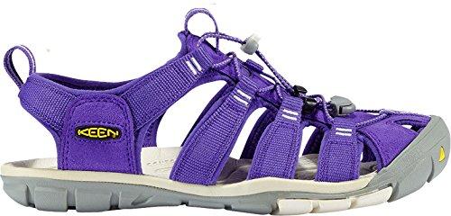 キーン シューズ サンダル KEEN Women's Clearwater CNX Water Sandal Ultraviole [並行輸入品]