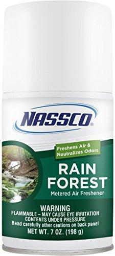 Rainforest Air Freshener (Nassco Metered Air Freshener, Rain Forest, 7 Ounces, Case of 12)