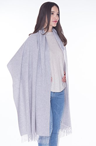 LEBAC 100% Cashmere Wrap Shawl Stole by LEBAC