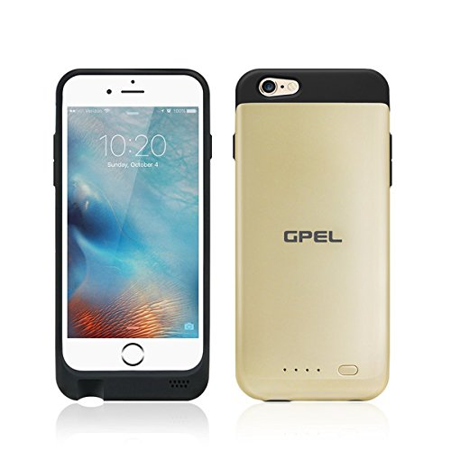 iPhone 6 | 6s GPEL [Apple Certified MFI] Qi Wireless Charging Battery...