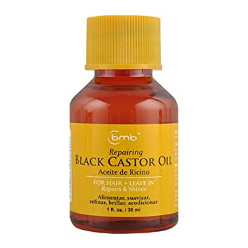 12packs of BMB HAIR REPAIRING OIL 1 OZ-BLACK CASTOR OIL