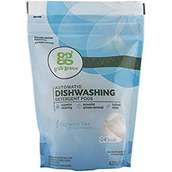 Amazon.com: Grab Green Natural Dishwasher Detergent Pods