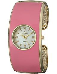 Peugeot Womens 7085PK Analog Display Japanese Quartz Pink Watch