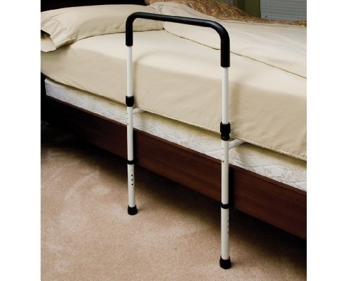 BED RAIL P1411 W/FLOOR SUP 1EA ESSENTIAL MEDICAL by Choice One by Essential Medical Supply