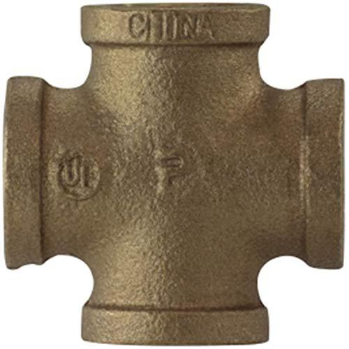 Midland 44-397 Bronze Fitting Crosses Elbow 1-1//2 Size
