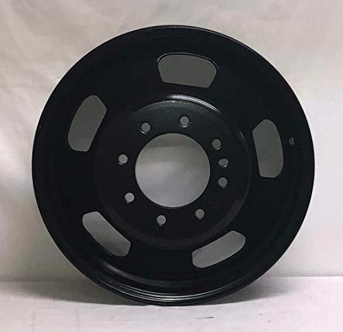 """New 17"""" Dodge Ram 3500 Dual Dually Black Wheel Rim 8 Lug WE1912N"""