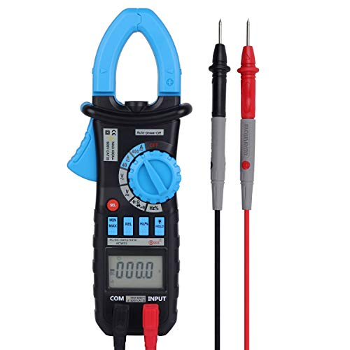 BSIDE ACM03 Digital Clamp Meter Auto-Ranging 400A AC/DC Current 4000 Counts Voltage Capacitance Frequency Resistance Diode Meter Tester