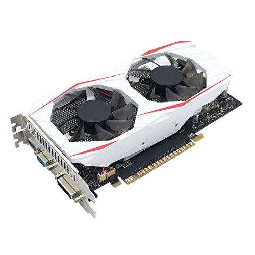 YIYEZI GTX 750Ti 2GB GDDR5 192bit VGA DVI HDMI Graphics Card With Fan For NVIDIA GeForce (White) by YIYEZI (Image #5)'