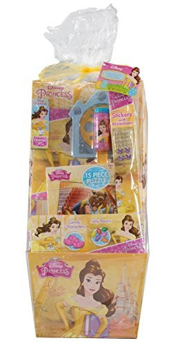 Disney's Princess Belle Princess Candy and Toy Filled Deluxe Easter Basket