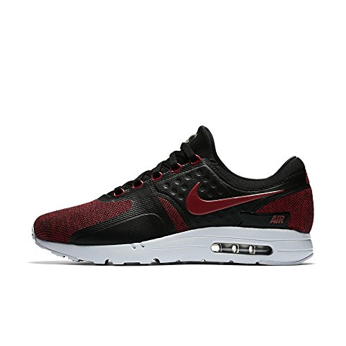 Nike Men's Air Max Zero Se Gymnastics Shoes Black Tough Red Pure Platinum 002 K8RrjK