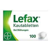 Lefax Kautabletten bei leichten Blähungen, Druck- und Spannungsgefühl im Bauch, für die ganze Familie, Kinder ab 6…