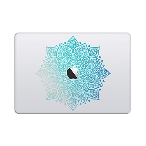 Laptop Stickers Macbook Decal - Removable Vinyl - Mandala De