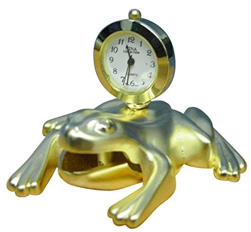 Frog Table Clock (Frog Desk Clock)