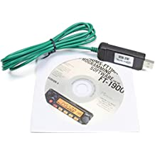 Yaesu ADMS-1900 Programming Software on CD with USB Computer Interface Cable for FT-1900R by RT Systems
