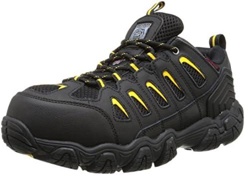Skechers for Work Men s Blais Steel-Toe Hiking Shoe