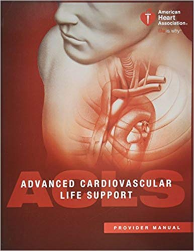 [1616694009] [9781616694005] Advanced Cardiovascular Life Support (ACLS) Provider Manual 16th ()