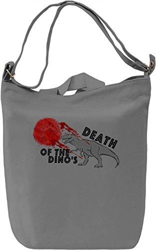 Death of the Dino's Borsa Giornaliera Canvas Canvas Day Bag| 100% Premium Cotton Canvas| DTG Printing|