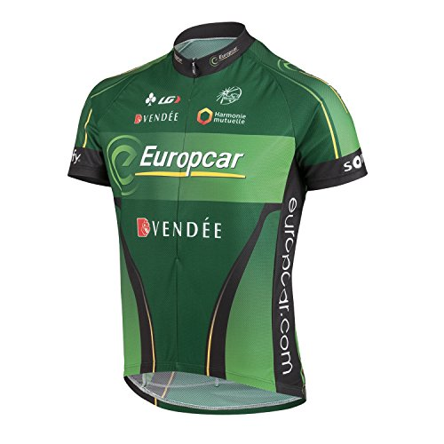 Equipe Short Sleeve Cycling Jersey - Louis Garneau 2015 Men's Equipe Pro Replica Short Sleeve Cycling Jersey - 5820805 (Team europcar - S)