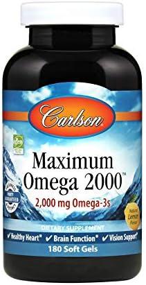 Carlson Maximum Omega Norwegian Omega 3s product image