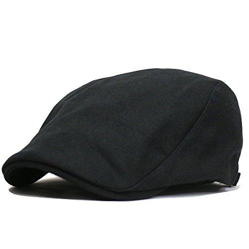 帽子 メンズ 大きいサイズ ハンチングビッグソリッズ