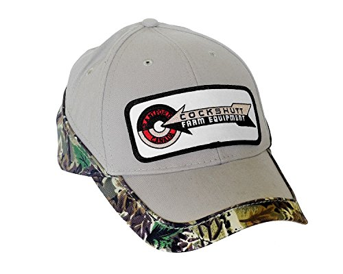 Cockshutt Tractor - J&D Productions Cockshutt Farm Equipment Kakhi Hat with Camouflage Accent