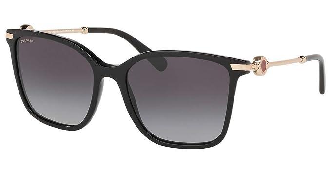 Bvlgari Gafas de Sol BV 8222 Black/Dark Grey Shaded Mujer ...