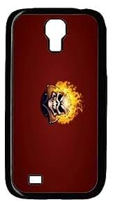 halloween ghost 7 Custom Samsung Galaxy I9500/Samsung Galaxy S4 Case Cover Polycarbonate Black