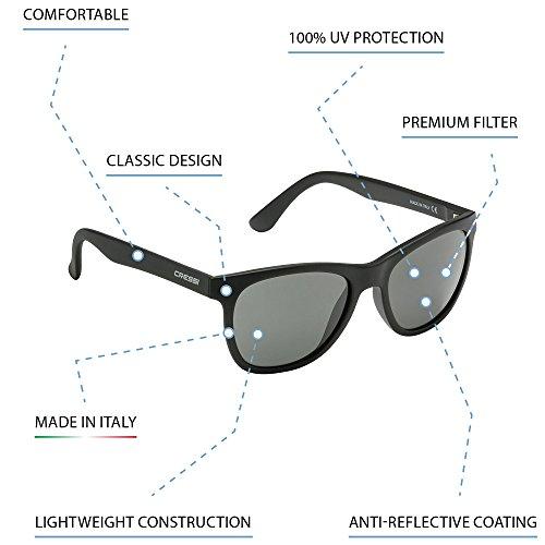 Deportivas de Gafas Anti Negro Azul Polarizados Cristales Cressi para Brillante Sol UV 100 Adulto AHq5xtwUt