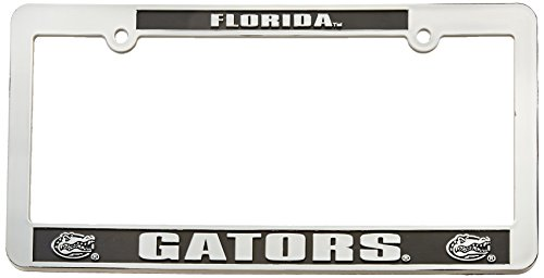 Game Day Outfitters NCAA Florida Gators Car Tag Frame, One Size, Multicolor (Gator Dad License)