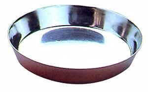 Molde de cobre para Tarta de Manzana. Diámetro total: 24 cm