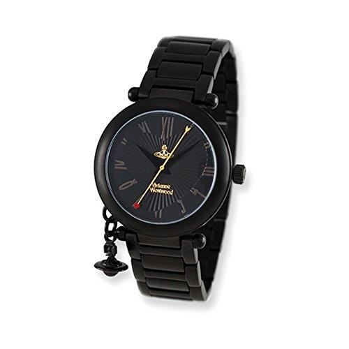 Ladies Vivienne Westwood Orb Black Bracelet Watch