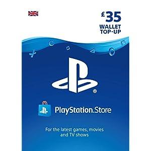 PlayStation PSN Card 35 GBP Wallet Top Up | PS5/PS4/PS3 | PSN Download Code – UK account