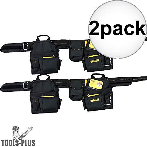 DeWalt DG5640 Large Ballistic Nylon Tool Belt 2-Pack Dewalt Nylon Tool Belt