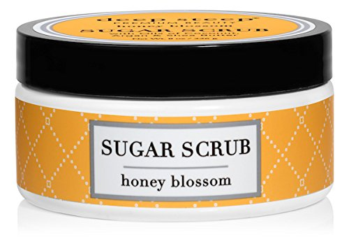 (Deep Steep Sugar Scrub, 8 Ounce (Honey Blossom))