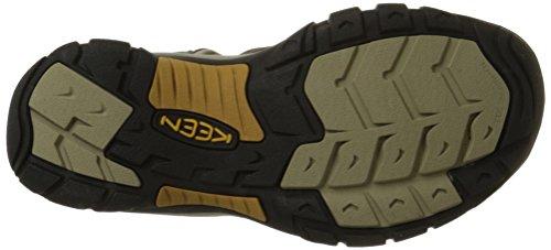 Angelägna Mens Newport H2 Sandal Raven / Aluminium