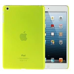 """Mini Ipad / Ipad 2 Mini Retina : caja de plástico de la cubierta del protector translúcido Ultra- delgada """"Green """""""