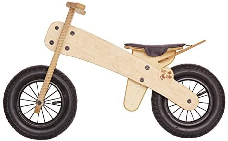 Rueda Madera Niños Bicicleta sin pedales de dipdap respetuoso con el medio Dipdap: Amazon.es: Juguetes y juegos