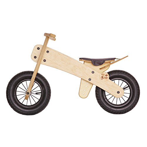🥇 Rueda Madera Niños Bicicleta sin pedales de dipdap respetuoso con el medio Dipdap mini