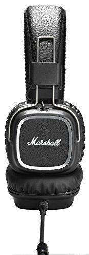 Marshall Major II Steel Edition Auricular Supraaural Diadema Negro - Auriculares (Supraaural, Diadema,