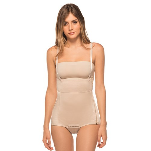 (Annette Women's Tummy Tuck Compression Garment, Beige, Medium )