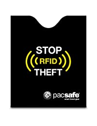 Pacsafe RFIDsleeve 50 Blocking Passport Protector, Black
